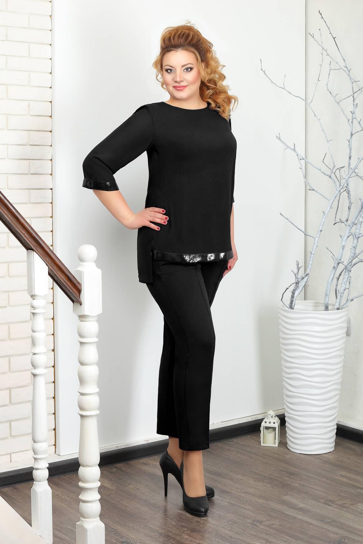 КОСТЮМ  032.10.2 брюки+блуза