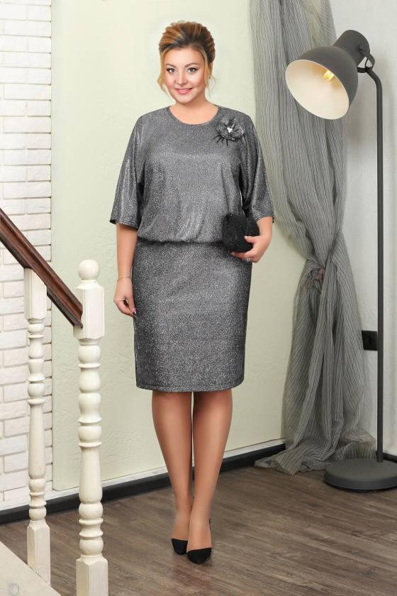 Платье 5506.250.1+брошь